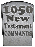 1050 New Testament Commands