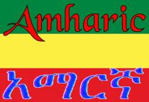 Amharic Flag