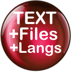 Text, Files and Other Languages