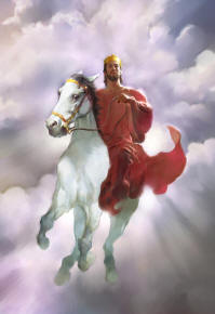 Yesus di atas kuda putih