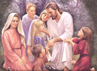 Yesus dengan Anak-anak