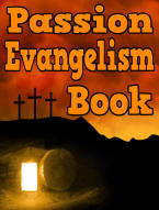 the Passion of the Christ evangelism book