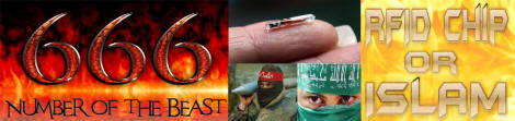 666 the Mark of the beast, RFID Chip or ISLAM
