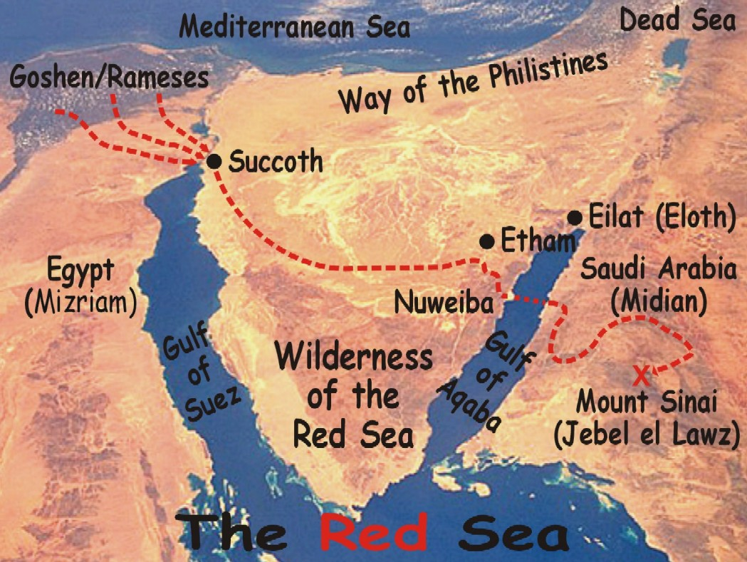 Red Sea Crossing Noahu0027s Ark Found with