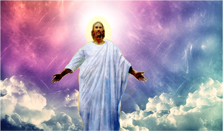 Христос в небесах картинки